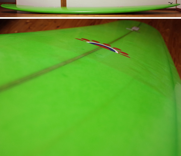 PIONEER MOSS モスサーフボード 中古ロングボード 9`0 Yasシェイプ deck-condition No.96291563