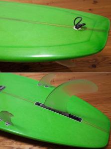 PIONEER MOSS モスサーフボード 中古ロングボード 9`0 Yasシェイプ tail No.96291563