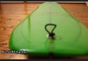 PIONEER MOSS モスサーフボード 中古ロングボード 9`0 Yasシェイプ deck-detail No.96291563