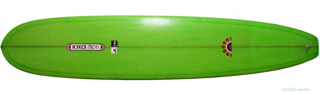PIONEER MOSS モスサーフボード 中古ロングボード 9`0 Yasシェイプ deck-zoom No.96291563