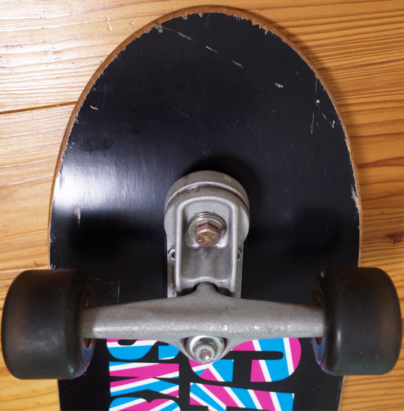 CARVER SK8 スケートボード 中古 33.5インチ LIMITED EDITION front condition No.96291565
