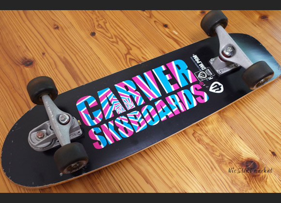 CARVER SK8 スケートボード 中古 33.5インチ LIMITED EDITION bottom No.96291565