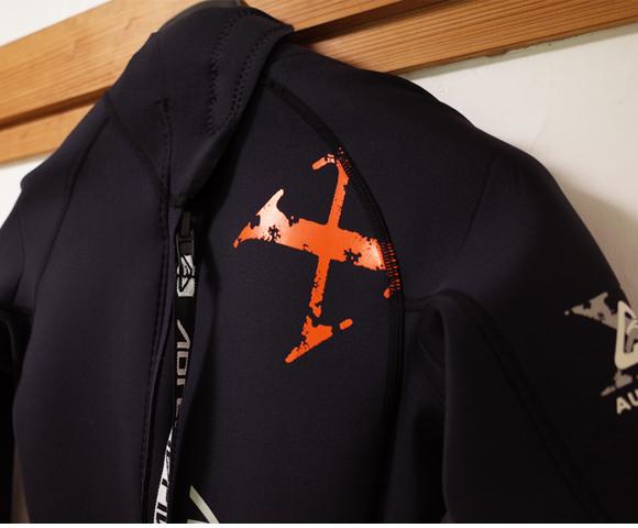 ADRENALIN ウェットスーツ 中古 3/2mm フルスーツ RADICAL-X メンズ M back-top condition  (No.96291566)