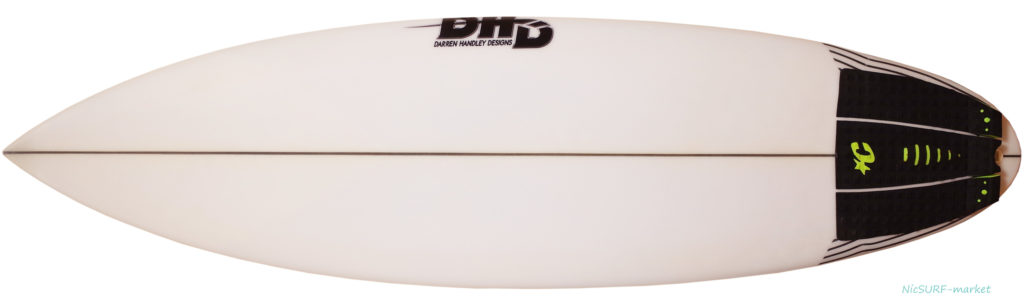 DHD 中古ショートボード SKELETON KEY 5`10 deck-zoom No.96291568