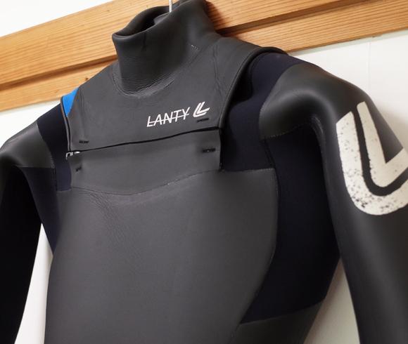 LANTY ランティーウエットスーツ 中古 5/3mm セミドライ メンズ front upper No.96291571