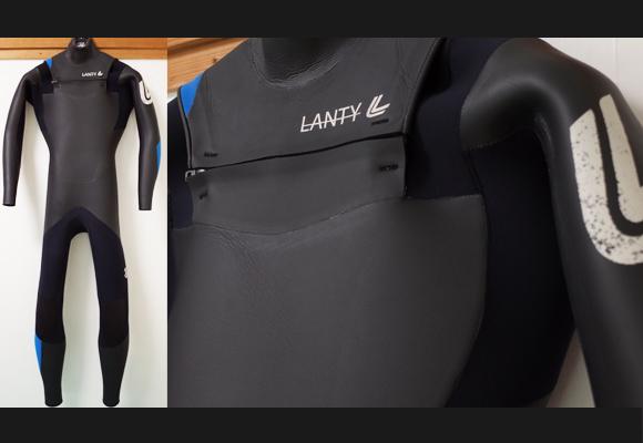 LANTY ランティーウエットスーツ 中古 5/3mm セミドライ メンズ No.96291571
