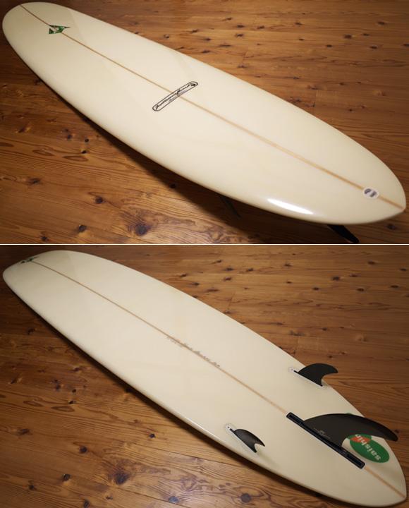 ジャスティスサーフボード  中古ロングボード 9`2 Classic Edition deck/bottom No.96291573