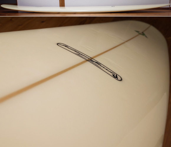 ジャスティスサーフボード  中古ロングボード 9`2 Classic Edition deck-condition No.96291573