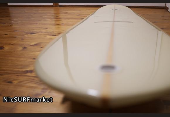 ジャスティスサーフボード  中古ロングボード 9`2 Classic Edition deck-detail No.96291573