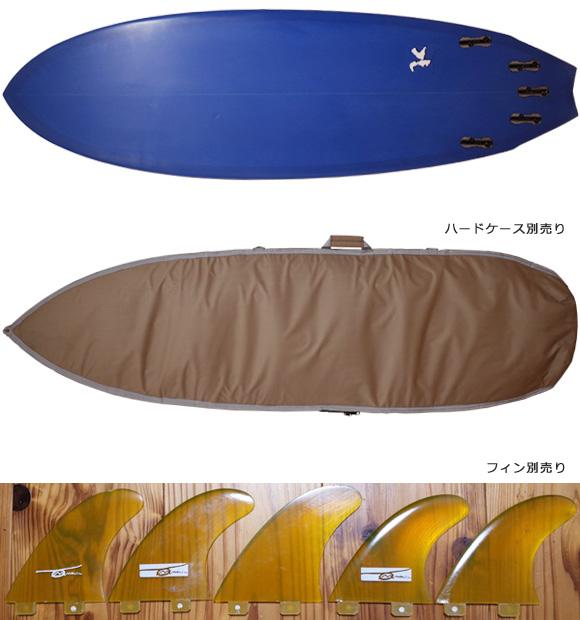 303サーフボード 中古ショートボード 6`2 / 2inOne fin/ハードケース No.96291574