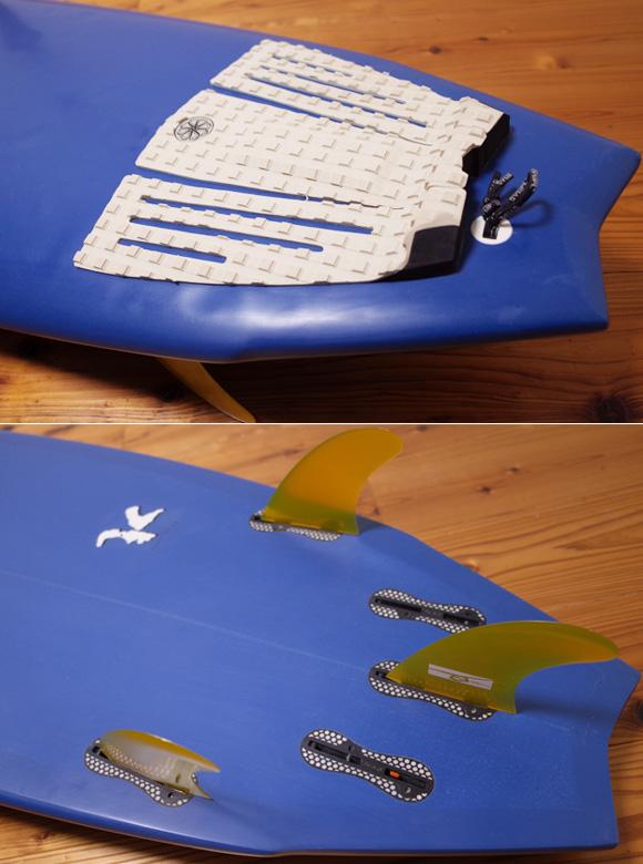 303サーフボード 中古ショートボード 6`2 / 2inOne tail No.96291574
