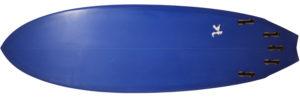 303サーフボード 中古ショートボード 6`2 / 2inOne bottom-zoom No.96291574