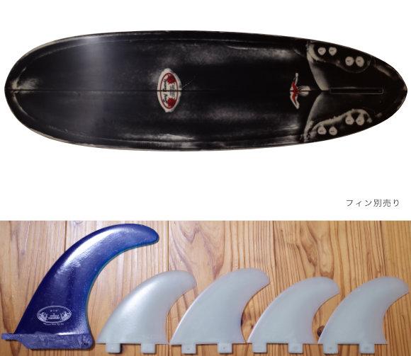 ドナルドタカヤマ限定モデル Black Jean-ius SCORPION2 中古ファンボード finセット 6`2 No.96291575