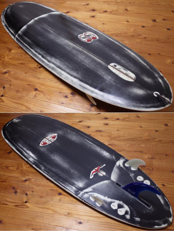ドナルドタカヤマ限定モデル Black Jean-ius SCORPION2 中古ファンボード 6`2 deck/bottom No.96291575