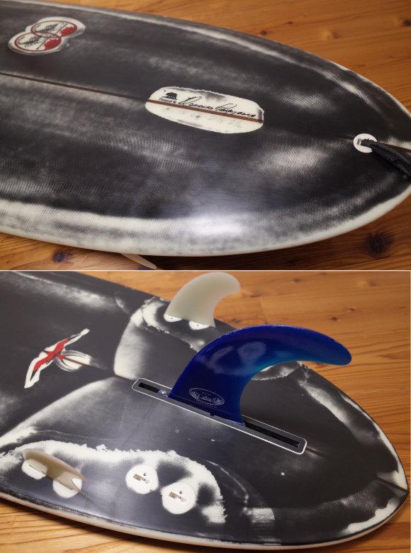 ドナルドタカヤマ限定モデル Black Jean-ius SCORPION2 中古ファンボード 6`2 tail No.96291575