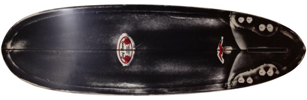ドナルドタカヤマ限定モデル Black Jean-ius SCORPION2 中古ファンボード 6`2 bottom-zoom No.96291575