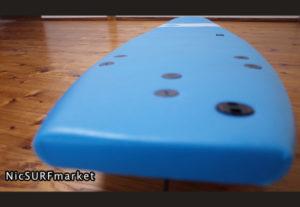 ソフテックサーフボード SOFTECH ROLLER 中古ソフトボード 7`0 deck-detail No.96291576