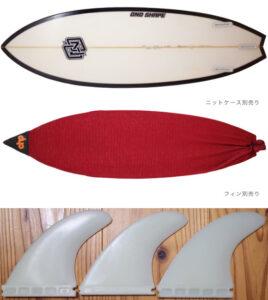 ONO HAND SHAPE SUNDAY 中古ショートボード 5`9 fin/ニットケース No.96291577