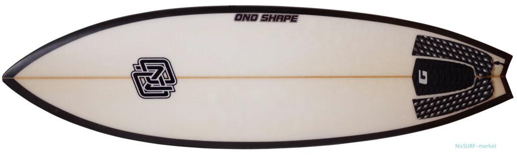 ONO HAND SHAPE SUNDAY 中古ショートボード 5`9 deck-zoom No.96291577