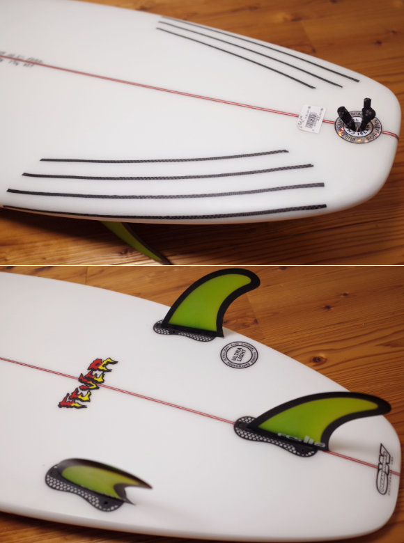 アルメリック サーフボード FEVER 5`11 中古ショートボード tail No.96291578