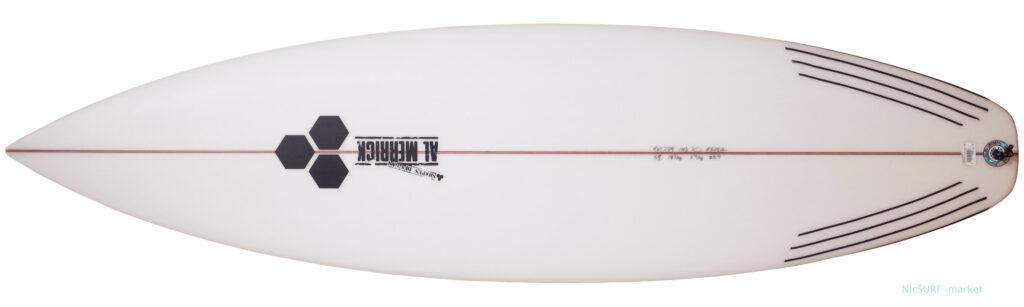 アルメリック サーフボード FEVER 5`11 中古ショートボード deck-zoom No.96291578