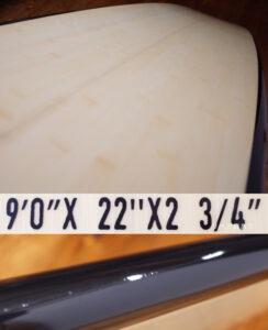 Creed クリードサーフボード 中古ロングボード 9`0 EPS condition No.96291579