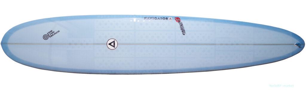 NAVIGATORサーフボード 中古ロングボード 9`0 deck-zoom No.96291581