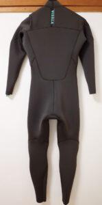 VISSLAウエットスーツ 中古 Seas Chest Zip 3/2mm フルスーツ メンズ back No.96291582
