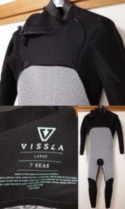 VISSLAウエットスーツ 中古 Seas Chest Zip 3/2mm フルスーツ メンズ inner-condition No.96291582