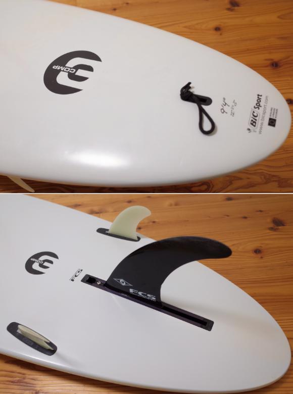 BIC ビック Noserider E-COMP 中古ロングボード9`4 モールド tail No.96291586