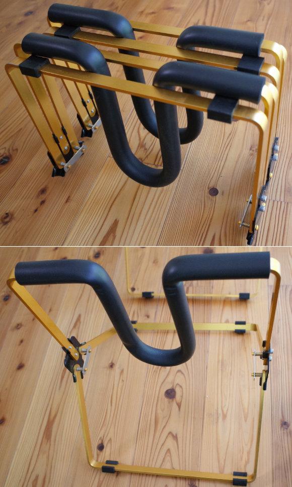 サーフボード 中古ワックスアップスタンド Easy Stand DELUXE アルミ 軽量 Detail  (No.96291589)