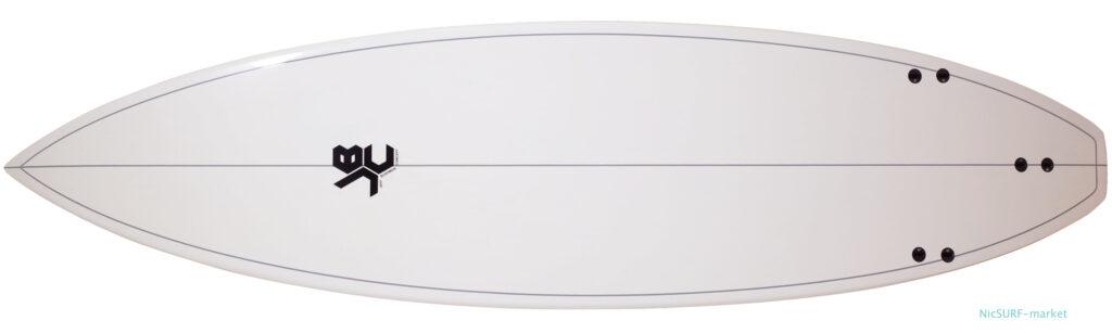 JBC ジェッフブッシュマンコセンプト 中古ショートボード 6`5 EPOXY bottom-zoom No.96291590