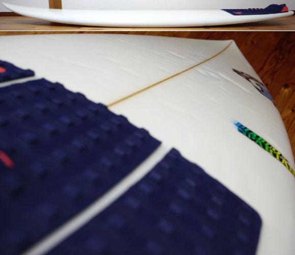 LOST DIABLO-SPARTAN 中古ショートボード 5`8 deck-condition No.96291595