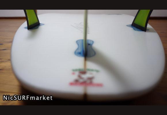 LOST DIABLO-SPARTAN 中古ショートボード 5`8 bottom-design No.96291595