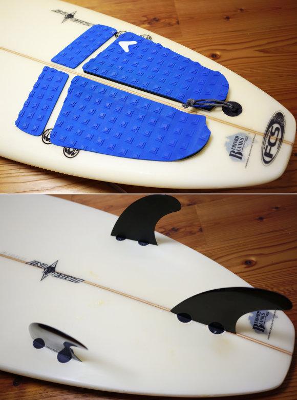 BEAR WATER UNIT 中古ショートボード 6`5 tail No.96291596