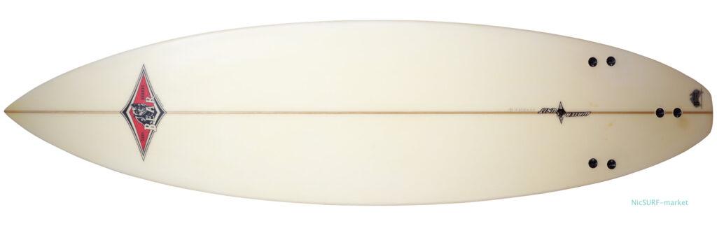 BEAR WATER UNIT 中古ショートボード 6`5 bottom-zoom No.96291596