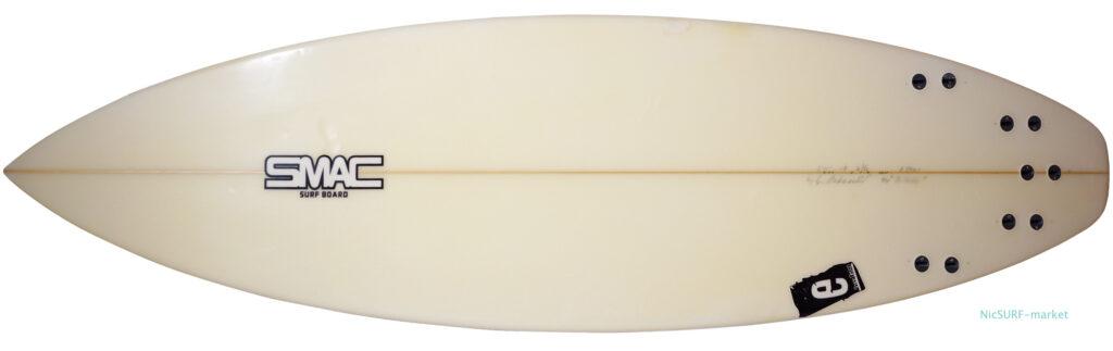SMAC 中古ショートボード 5`11 e-STD bottom-zoom No.96291597
