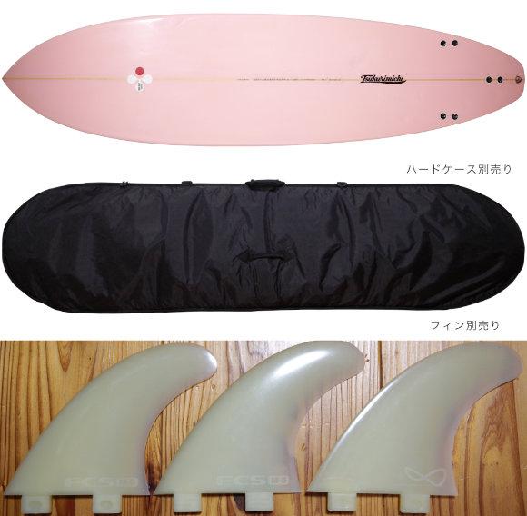 TSSC SURFBOARD 中古ファンボード7`4f fin/ハードケース No.96291598