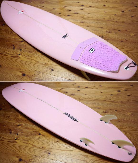 TSSC SURFBOARD 中古ファンボード7`4f deck/bottom No.96291598