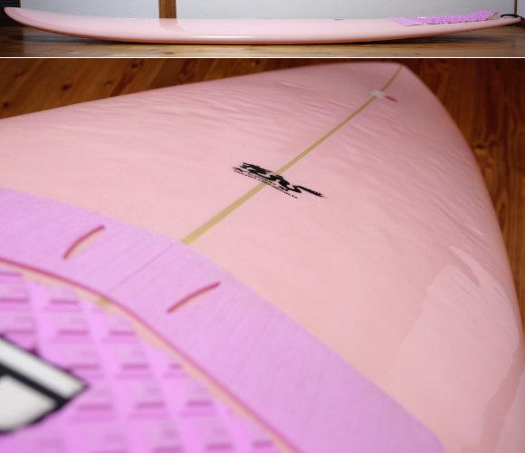 TSSC SURFBOARD 中古ファンボード7`4f deck-condition  No.96291598