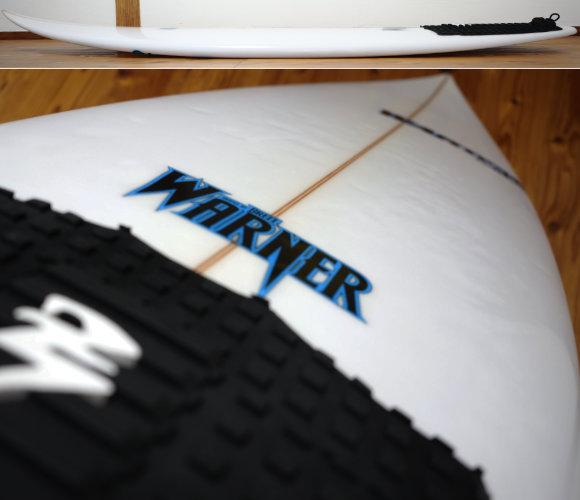 Warnerサーフボード SEA EAGLE 中古ショートボード 5`11 deck-condition No.96291599