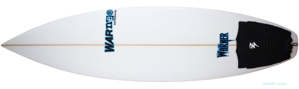 Warnerサーフボード SEA EAGLE 中古ショートボード 5`11 deck-zoom No.96291599