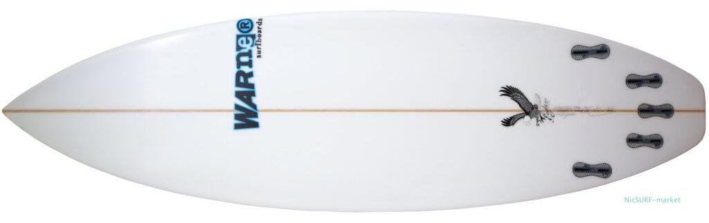 Warnerサーフボード SEA EAGLE 中古ショートボード bottom-zoom 5`11 No.96291599