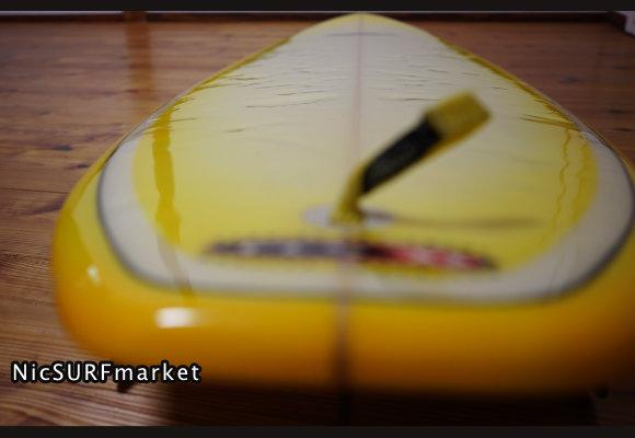 ABRAXAS SURFBOARD 中古ファンボード/ミッドレングス 7`2f deck-detail No.96291600