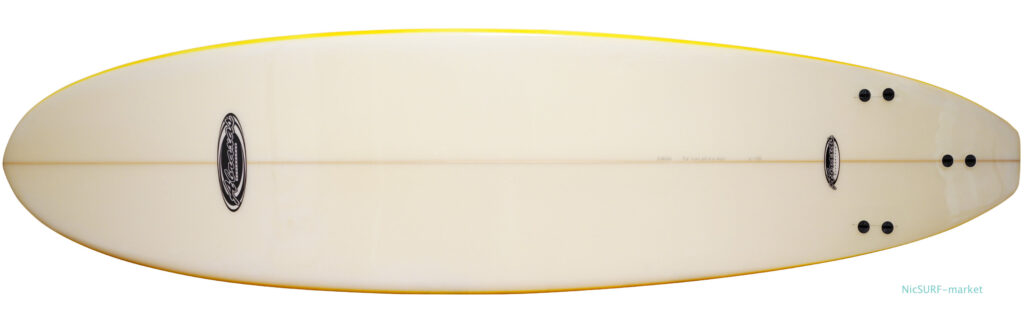 ABRAXAS SURFBOARD 中古ファンボード/ミッドレングス 7`2f bottom-zoom No.96291600