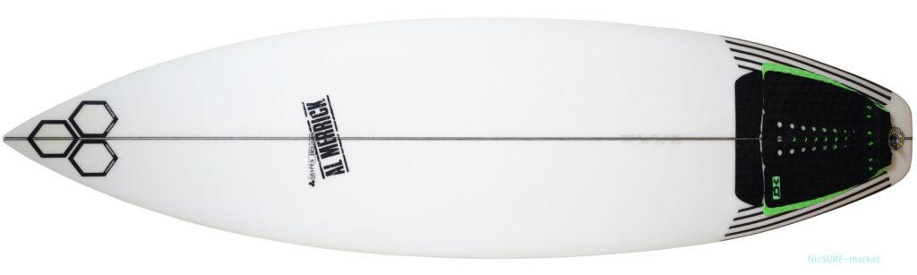 アルメリックサーフボード OG-FLYER 中古ショートボード 5`10 deck-zoom No.96291602