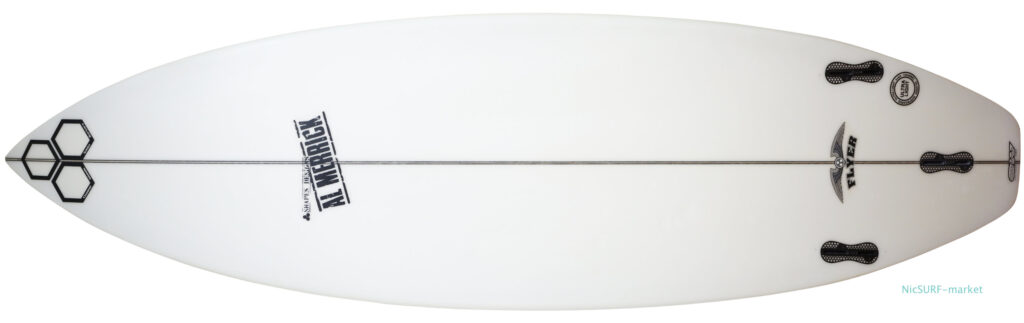アルメリックサーフボード OG-FLYER 中古ショートボード 5`10 tail-zoom No.96291602